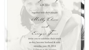 Sheer Paper Wedding Invitations Fashionable Wedding Invitations
