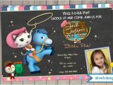 Sheriff Callie Party Invitations Sheriff Callie 39 S Birthday Invitation On Chalkboard