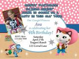 Sheriff Callie Party Invitations Sheriff Callie Birthday Invitation Cowgirl Birthday