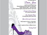 Shoe themed Bridal Shower Invitations Printable Diy Shoe theme Bridal Shower by Cupcakegraphics1