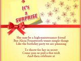 Shopping Party Invitation Wording Invitation for Surprise Birthday Party Wording Images