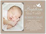 Shutterfly Baptism Invitations Crafty Dove Boy 4×5 Invitation