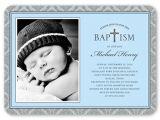 Shutterfly Baptism Invitations Radiant Cross Boy 5×7 Invitation