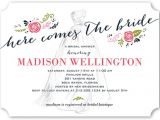 Shutterfly Invitations Bridal Shower Timeless Dress 5×7 Bridal Shower Invitations