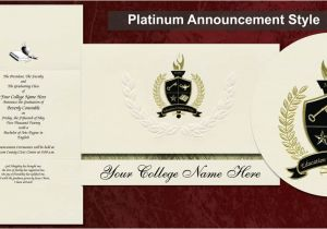 Signature Invitations Graduation why order From Signature Announcements