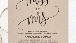 Simple Homemade Bridal Shower Invitations 17 Printable Bridal Shower Invitations You Can Diy