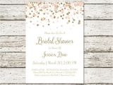 Simple Homemade Bridal Shower Invitations Blush Pink and Gold Bridal Shower Invitation Printable