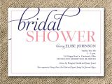 Simple Homemade Bridal Shower Invitations Bridal Shower Invitation Simple Modern Script by Kindlyreply