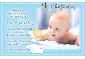 Simple Message for Baptism Invitation Free Christening Invitation Template
