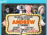 Sing Party Invitations Sing Invitation Sing Birthday Sing Party Sing Invites Sing