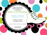Skating Party Invitations Free Printables Roller Skate Invitations Template