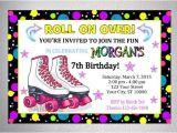 Skating Party Invitations Free Printables Rollerskating Party Invitation Printable Roller Skate