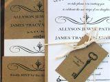 Skeleton Key Wedding Invitations Wedding Invitations Skeleton Key Modern Vintage Wedding Best