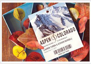 Ski Pass Wedding Invitations aspen Ski Pass Save the Date