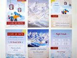 Ski Pass Wedding Invitations Rodo Creative Bespoke Wedding Stationery Ski Pass Wedding