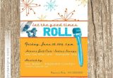 Skin Care Party Invitation Modern Rodan and Fields Invitation Good Times Roll