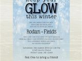Skin Care Party Invitation Rodan and Fields Skin Care Party Invite Digital Jpg Only
