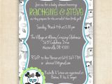 Skull Baby Shower Invitations Owls and Skulls Baby Shower Invitation by Fourleafprints