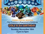 Skylander Birthday Invitations 62 Best Skylanders Birthday Party Images On Pinterest