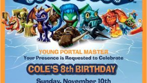 Skylander Birthday Invitations Free 62 Best Skylanders Birthday Party Images On Pinterest