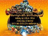 Skylander Birthday Invitations Free Diy Skylanders Giants Birthday Party Invitations