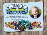 Skylander Birthday Invitations Skylander Birthday Invitation Personalized Parties