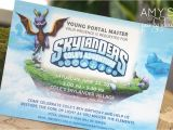 Skylander Birthday Invitations Skylanders Adventure Party Amy 39 S Party Ideas