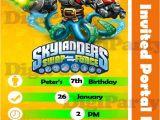 Skylanders Birthday Invitations Printable New Skylander Swap force Custom Birthday Invitation Hey