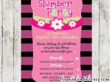 Slumber Party Invitation Ideas Slumber Party Invitations Pink Sleeping Bag Cupcakemakeover