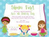 Slumber Party Invitation Sayings Slumber Party Birthday Custom Digital by Kimnelsoncreative
