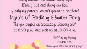 Slumber Party Invitation Wording Ideas Cute Invite and Wording Morgan 39 S Slumber Party Ideas