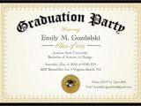 Small Graduation Party Invitations Diploma Graduation Party Invitations Grad Announcement