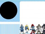 Smurf Baby Shower Invitations Smurfs Invitations and Party Free Printables for Boys