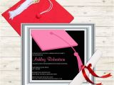 Snapfish Graduation Party Invitations Pink Clapboard Hat Graduation Party Invitation Cards Printable