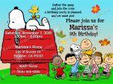 Snoopy Birthday Party Invitations Peanuts Snoopy Birthday Invitations Kustom Kreations
