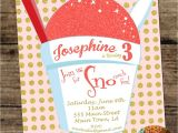 Snowball Party Invitations Snoball Birthday Invitation New orleans Sno Ball Snow Cone
