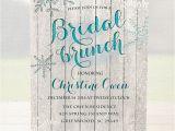 Snowflake Bridal Shower Invitations Winter Bridal Shower Invitation Bridal Brunch by