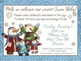 Snowman Baby Shower Invitations Family Snow Baby Shower Invitation Snowman Mommy