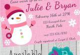 Snowman Baby Shower Invitations Winter Snowman Baby Shower Invitation Printable 4×6 or