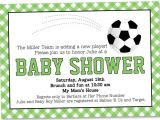 Soccer Baby Shower Invitations soccer Baby Shower Invitation