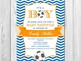 Soccer Baby Shower Invitations Unavailable Listing On Etsy