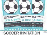 Soccer Ball Baby Shower Invitations Best 25 soccer Baby Showers Ideas On Pinterest