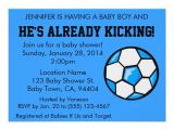 "Soccer Ball Baby Shower Invitations soccer Baby Shower Invitation Customizable 4 5"" X 6 25"