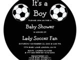 Soccer Ball Baby Shower Invitations soccer Ball Sports Its A Boy Girl Baby Shower