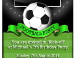 Soccer Birthday Party Invitation Templates Free Birthday Invites Awesome Birthday soccer Party