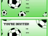 Soccer Birthday Party Invitation Templates Free Free Printable soccer Birthday Party Invitations