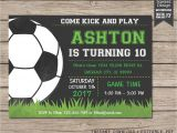 Soccer Invitations for Birthday Party soccer Invitation soccer Birthday Invitation soccer Party
