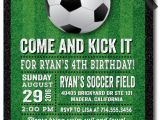 Soccer Invitations for Birthday Party soccer Party Birthday Invitations Di 432 Harrison