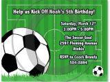 Soccer Party Invitation Template soccer Birthday Invitations Ideas Bagvania Free