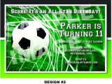 Soccer themed Birthday Party Invitations soccer themed Birthday Party Invitations Home Party Ideas